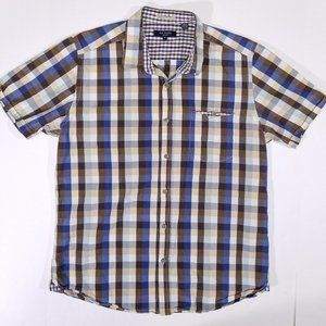 Ted Baker London Short Sleeve Casual Button Up